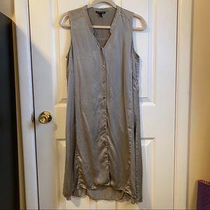 Eileen Fisher Silk Sleeveless Maxi Dress